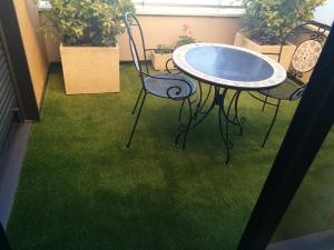 Modelo GREEN30 en terraza