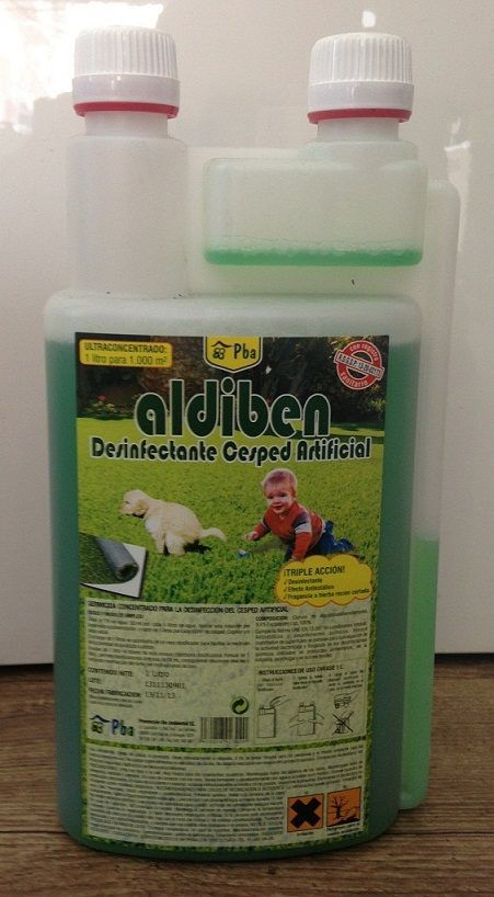 Desinfectante para césped artificial