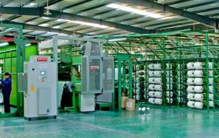 Gazon artificiel usine