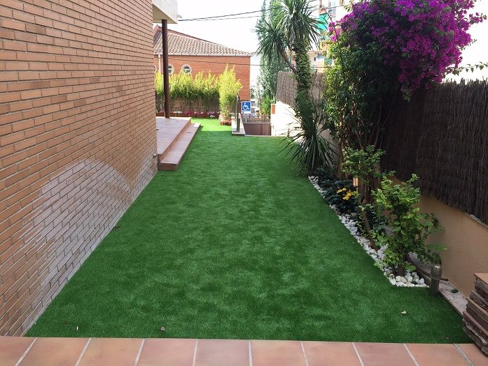 Cesped artificial sobre tierra amazing presentacin del - Colocar cesped artificial sobre terreno natural ...